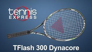 Tecnifibre TFlash 300 Dynacore Racquet Review | Tennis Express