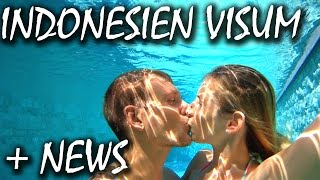 Indonesien Visum Anleitung + geniale Neuigkeiten - Bali | VLOG #105