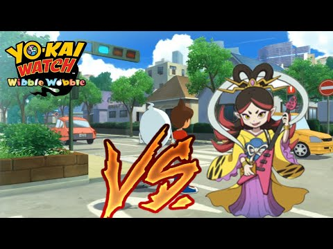 Yokai Watch Wibble Wobble (Eur) Reto de Marcador vs Benzaiten.