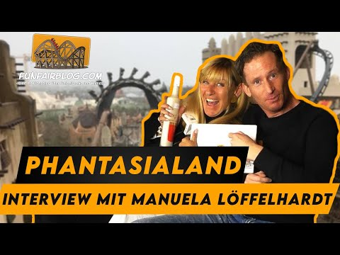 Phantasialand Chefin Manuela Löffelhardt Interview | Funfair Blog #151 [HD]
