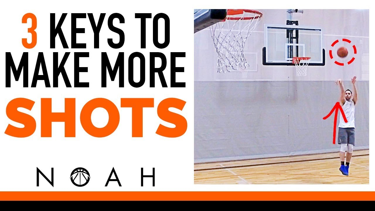 How to shoot a basketball perfectly (step guide).