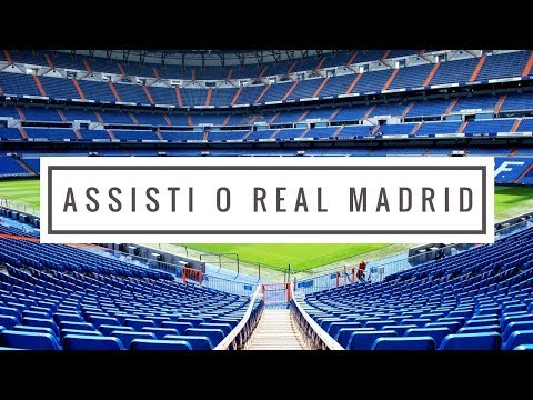 #110 - ASSISTI O REAL MADRID EM MADRID !!