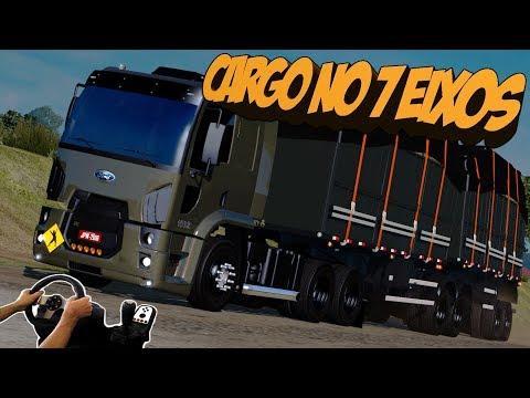 FORD CARGO NO BITREM - ACIDENTE NA TRANSAMAZÔNICA - ETS 2 MODS