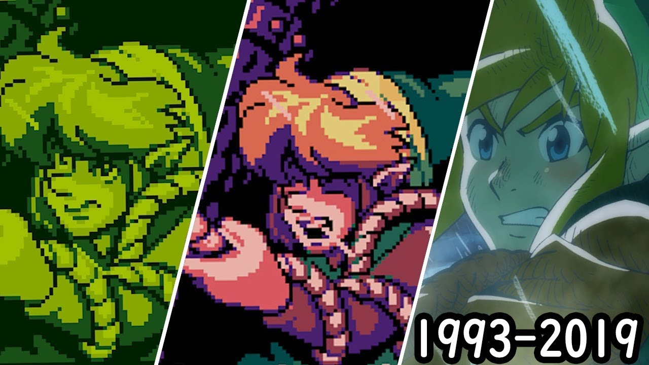 Zelda: Link's Awakening Comparison - GB vs GBC vs Nintendo Switch (1993 - 2019) thumbnail