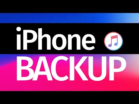 How To Backup IPhone Using ITunes In Your (PC & Mac) IPhone 6 IPhone 7 IPhone 8 IPhone X IPhone XS