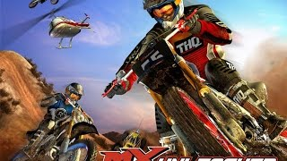 MX UNLEASHED (PS2) INTRO & GAMEPLAY EPIC MOTOCROSS 500CC
