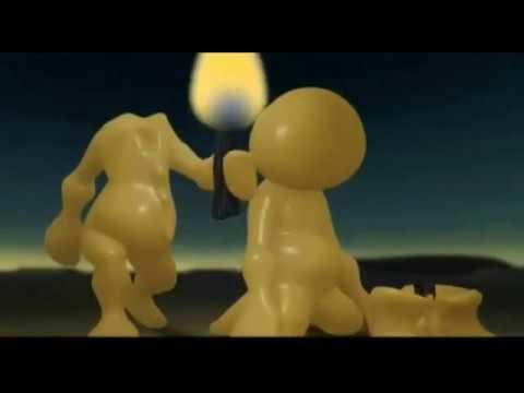 """Мультфильм-притча о познании мира и себя и стихотворение """"Три свечи"""""""