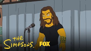 Jason Momoa Tells A Story   Season 31 Ep. 3   THE SIMPSONS