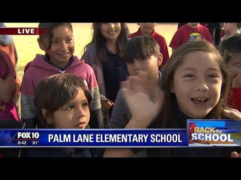Back to school: Palm Lane Elementary School
