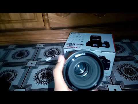 DSLR CAMERA CANON EOS 550D. Unboxing And Review All details with Test and Review All Cannon 550d.