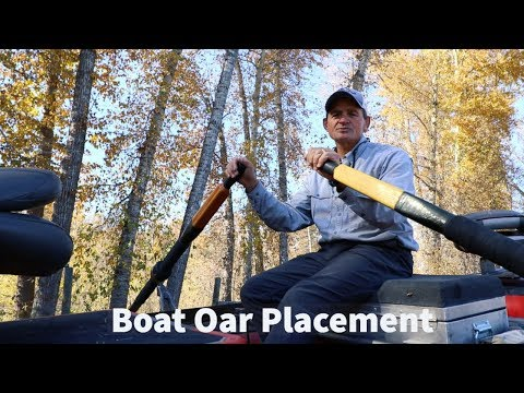 How To Rig Your Boat | Oar Placement | Fly Fishing Tips