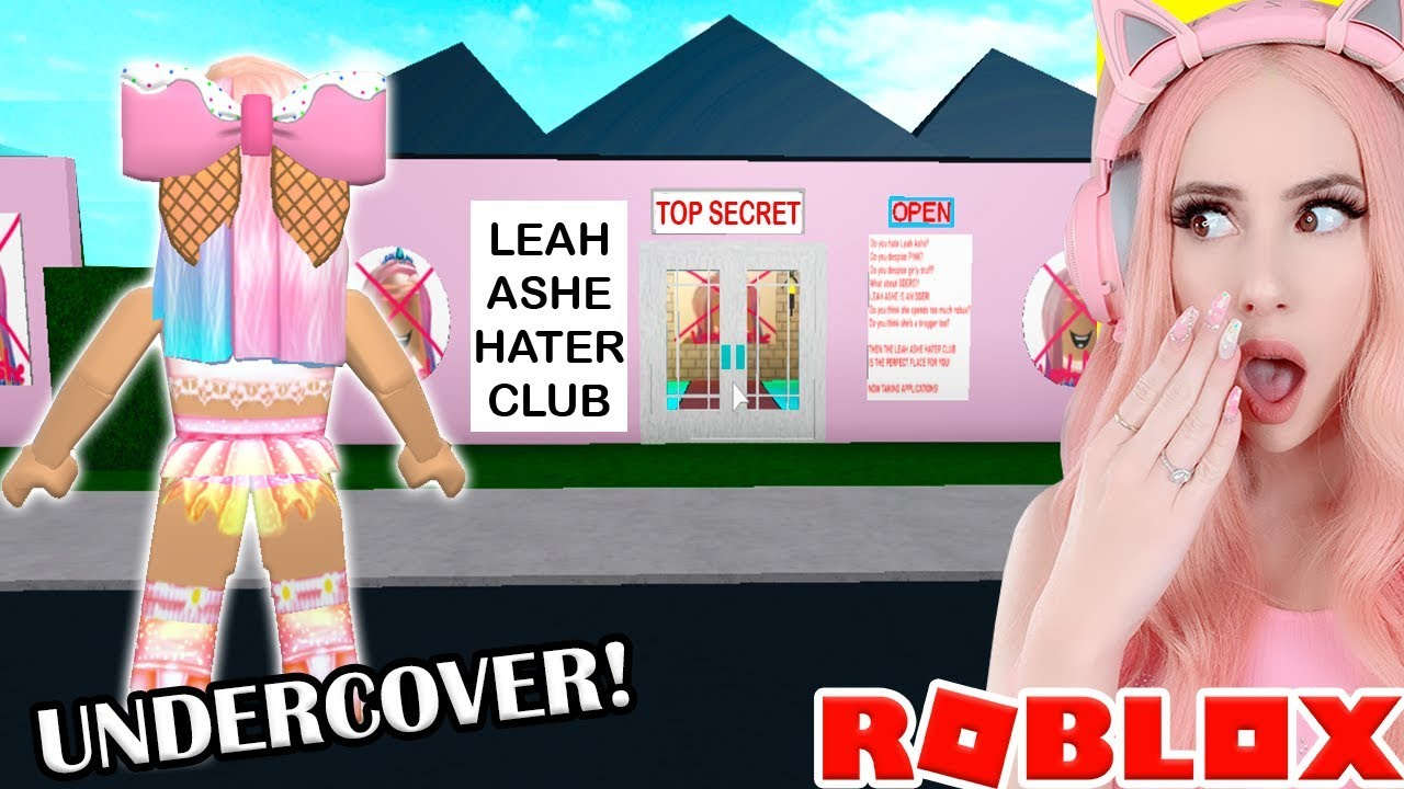 I Found A Top Secret Leah Ashe Hater Club So I Went Undercover
