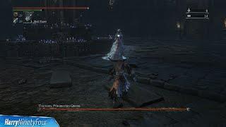 Bloodborne - Yharnam, Pthumerian Queen Location and Boss Fight (Yharnam, Pthumerian Queen Trophy)