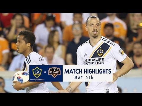 HIGHLIGHTS: LA Galaxy vs. Houston Dynamo | May 5, 2018