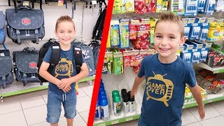 VLOG - Chasse aux Fournitures Scolaires 2017 pour Swan !