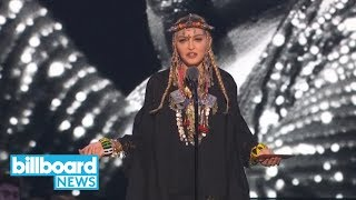 No One Loves Madonna More Than Madonna -- According to Her Aretha Franklin Tribute | Billboard News Resimi