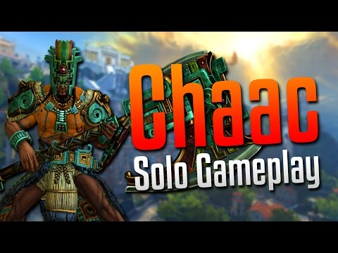 Smite: Bringing Down the Axe!- Chaac Solo Gameplay
