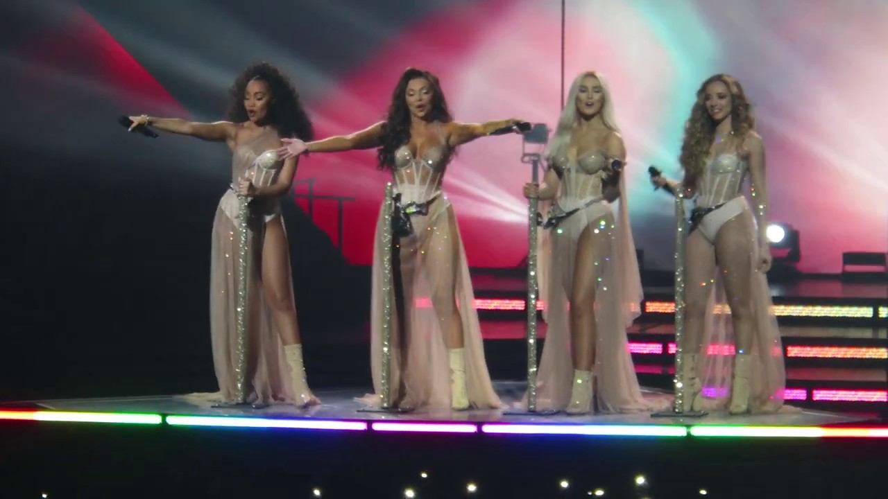 Little Mix - Secret Love Song, Pt  II - LM5: The Tour - HD Live at the O2, London on 02/11/2019