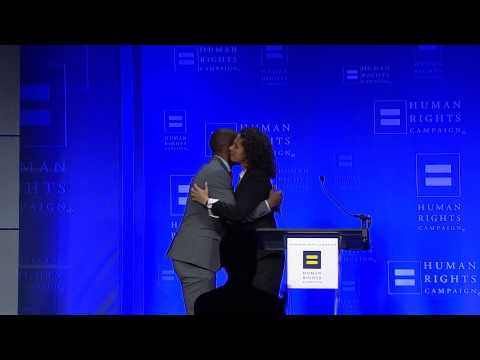 Wade Davis at the 2015 HRC Cincinnati Gala - YouTube