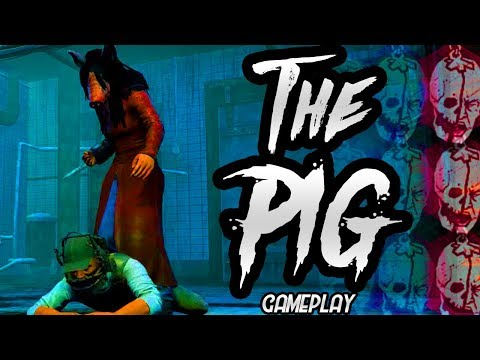 Dead By Daylight - The Pig Gameplay and Mori!