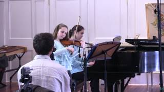 Witold Lutoslawski: Lullaby for Anne-Sophie