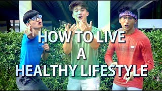 How To Live A Healthy Lifestyle😂 feat. MyProtein!