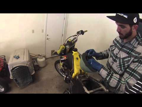 How to clean a Dirtbike air filter