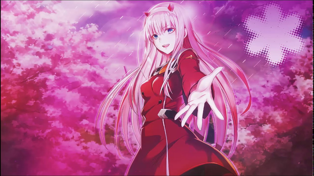 Anime Wallpaper Darling In The Franxx Zero Two Youtube