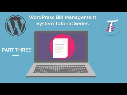 WordPress Bid Management System 3