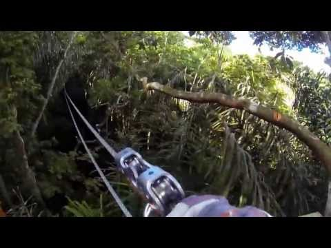 GoPro: Macqueripe Zipline Tour, Chaguaramas, Trinidad