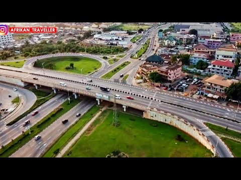 Journey from Accra to Kumasi in Ghana