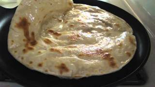 How to cook chapati on stove top
