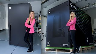 Xbox Series X Fridge Unboxing