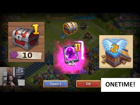 JT's F2P Halloween Gifts 10 Castle Chest Hero Collector Talent Boxes Clash
