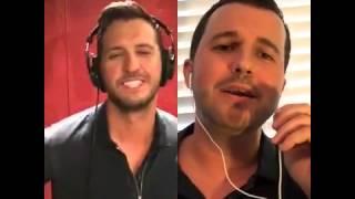 Play It Again- duet with Luke Bryan!