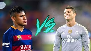 Cristiano Ronaldo vs Neymar JR ● Magic Skills Show | 2015/16 HD