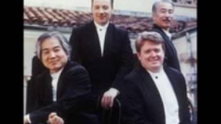 Tokyo String Quartet playing