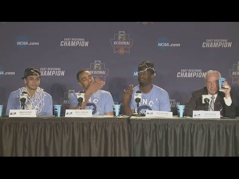 UNC Men's Basketball: Theo Pinson Makes Press Conferences...Different