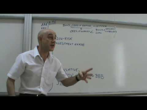 Financial Markets and Institutions - Lecture 36