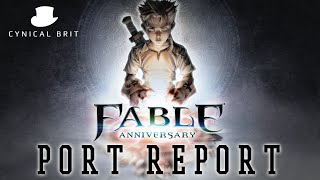 Fable Anniversary for PC seems a bit naff