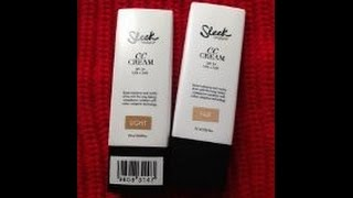 Product 411: Sleek Makeup CC Cream |Review/Demo|