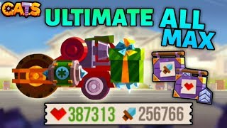 Maxing DAMAGE and HEALTH on an ULTIMATE Machine C.A.T.S - ALL MAX Crash Arena Turbo Stars thumbnail