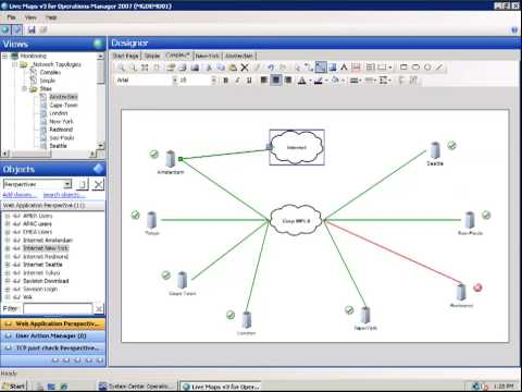 HowTo  Create Advanced Network Topologies with    Microsoft    Operations Manager  YouTube