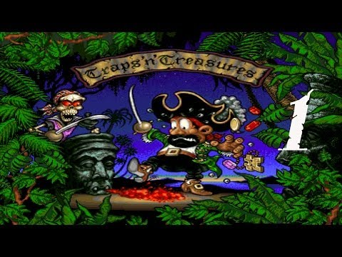 Traps 'n' Treasures (Amiga/Gameplay/Full HD) | Let´s be a Pi