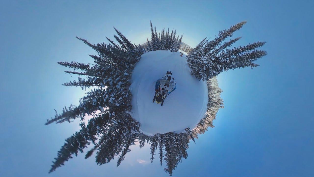 Зимняя сказка в 360°: путешествие по Хакасии на снегоходах