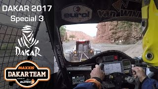 Dakar trouble for Tom Coronel in stage 3, towing with Tim Coronel