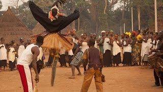 Stilt Dance Ceremony, Ivory Coast: Overlanding West Africa