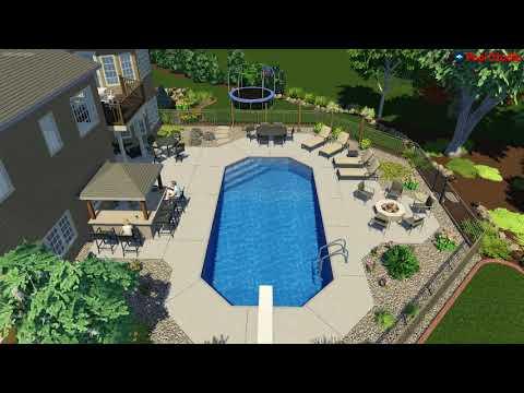 Sussex, WI Pool Concept Video -Grecian R1