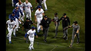 ARI @ LAD -  D-backs, Dodgers engage in fracas ᴴᴰ