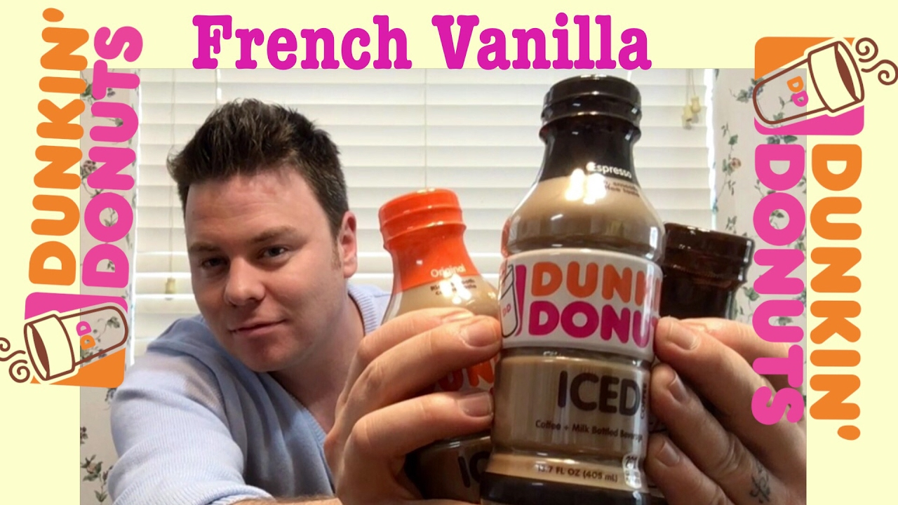 DUNKIN DONUTS BOTTLED ICED COFFEE 2 4